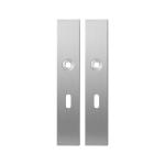 Langschild GPF1100.25 BB56 RVS geborsteld