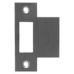 Mauer sluitplaat t.b.v. 1535 loopslot, rechthoekig RVS