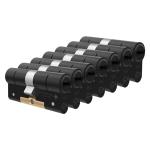 M&C Condor antikerntrek dubbele veiligheidscilinder gelijksluitend per 7, zwart