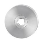 Rozet GPF1100.05 50x6mm RVS geborsteld