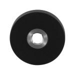 Rozet GPF8100.00L/R 50x8mm zwart links-/rechtsdraaiend