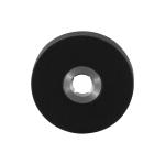 Rozet GPF8100.05L 50x6mm zwart linksdraaiend