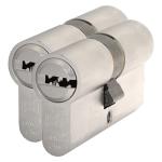 S2 antikerntrek veiligheidscilinders F6 gelijksluitend per 2, 30/45