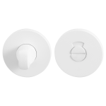 Toiletgarnituur GPF8903VW 53x6mm stift 8mm wit