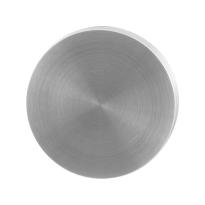 Blinde rozet GPF0900.00 50x8mm RVS geborsteld