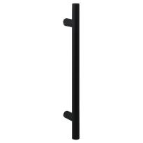 Deurgreep T-model GPF16 20x350mm zwart