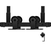 GPF0560.61 dubbel schuifdeursysteem Osa zwart
