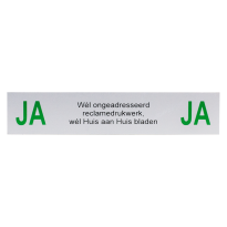 Ja / Ja sticker