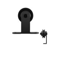 GPF0510.61 enkele schuifdeurhanger Osa zwart