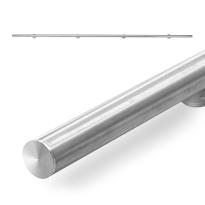 GPF0572.09 schuifdeurrails 200 cm RVS