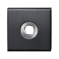 Rozet GPF1100.02P1 50x50x8mm PVD antraciet