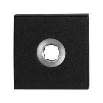 Rozet GPF8100.02 50x50x8mm zwart