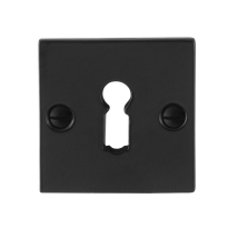 Sleutelrozet GPF6901.08 52x52x4mm smeedijzer zwart