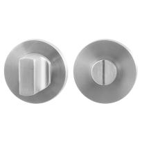 Toiletgarnituur GPF0911.00 50x8mm stift 5mm RVS geborsteld grote knop