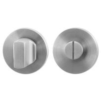 Toiletgarnituur GPF0911.05 50x6mm stift 5mm RVS geborsteld grote knop