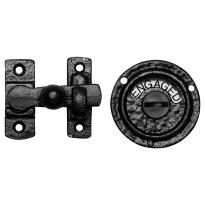 Toiletgarnituur KP1150 70x65mm smeedijzer zwart