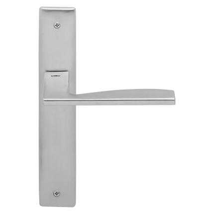 1030L Link deurkruk op schild PC85 linkswijzend