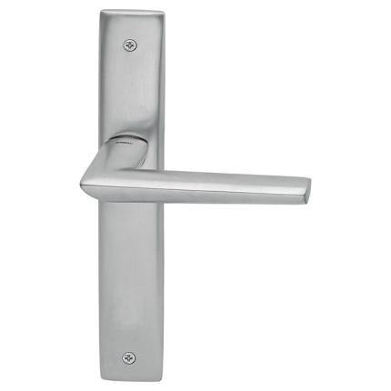 1080R Isi deurkruk op schild BB56 rechtswijzend