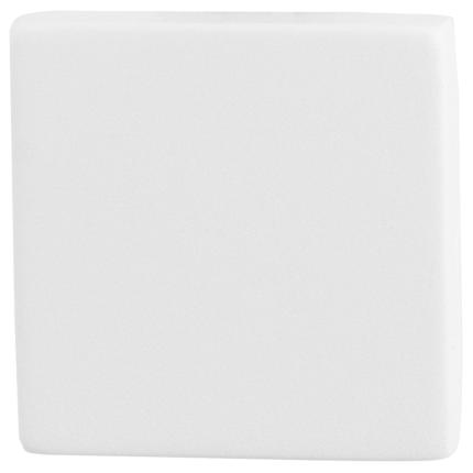 Blinde rozet GPF8900.42 50x50x8mm wit