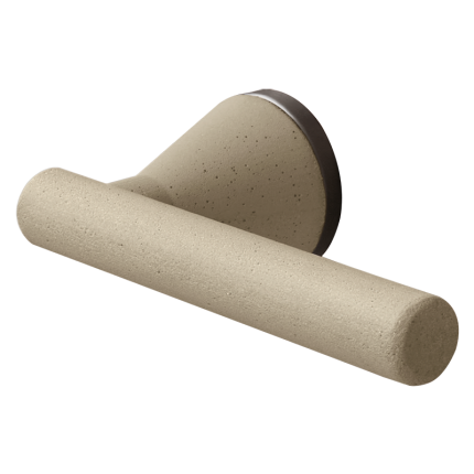 Deurkruk op rozet Juno 8021/SB zand