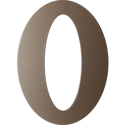Mocca blend huisnummer 0 plat, 150 mm