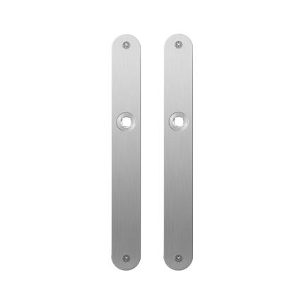 Plaatschild GPF1100.23 blind RVS geborsteld