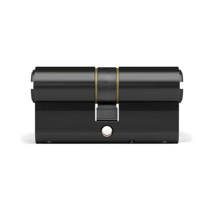 Profielcilinder DOM ix Teco SKG**, dubbele cilinder zwart
