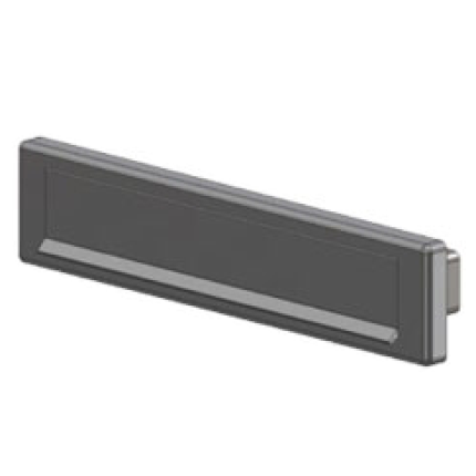 S2 briefplaat Low Energy aluminium F1