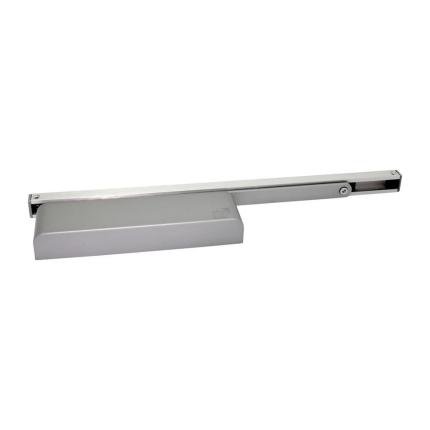 S2 Slimline deurdranger 525 glijrail met mechanische vastzetting
