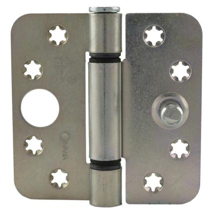 Scharnier ronde hoek Ivana veiligheidsuitvoering 89x89mm staal