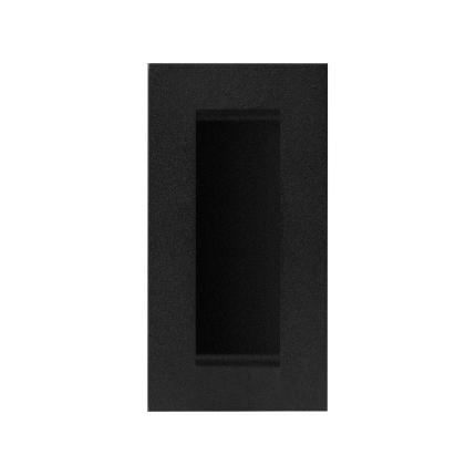 Schuifdeurkom zwart GPF8717.61A