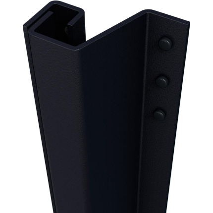 SecuStrip Plus buitendraaiende ramen antraciet, 1500mm, terugligging 0-6mm