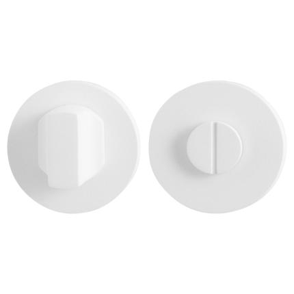 Toiletgarnituur GPF8910.45 50x6mm stift 8mm wit grote knop