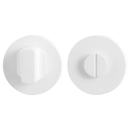 Toiletgarnituur GPF8911.40 50x8mm stift 5mm wit grote knop