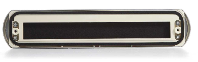 Voorkeur AXA Curve briefplaat aluminium F1 - deurbeslag.nl UO93