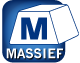 Massief veiligheidsbeslag pictogram
