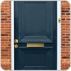 Icoon hoe werkt een deurbel