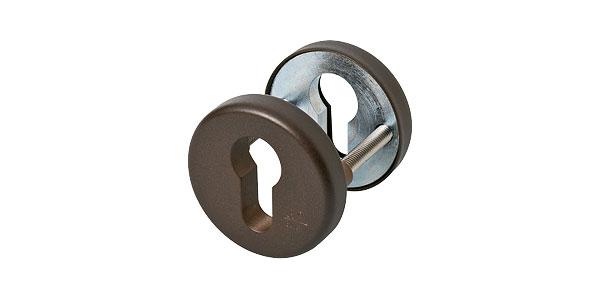 Veiligheidsrozetten brons