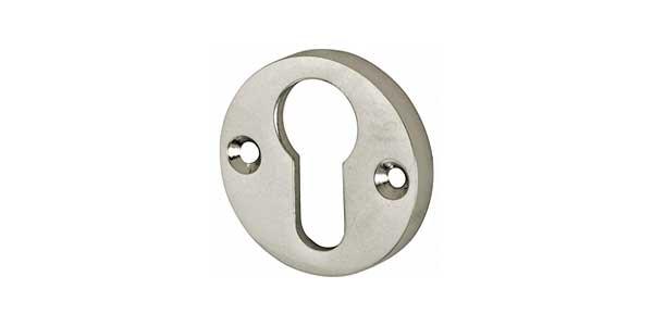 Cilinderrozetten nikkel
