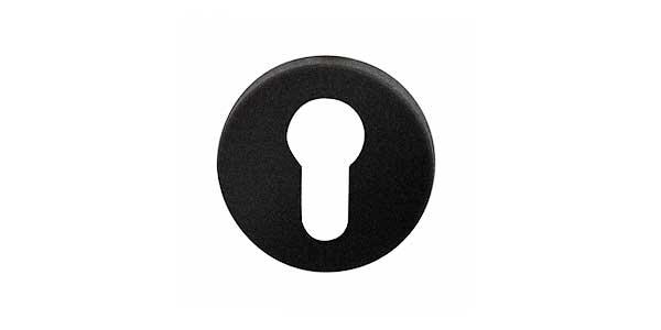 Cilinderrozetten zwart