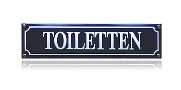 WC bordjes
