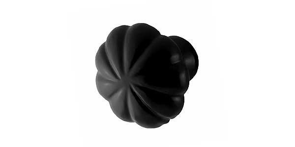 Keukenknoppen zwart