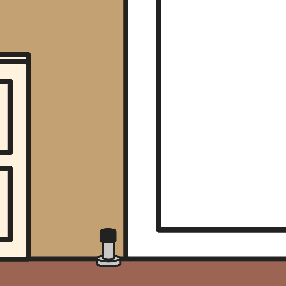 Keuze deurstopper