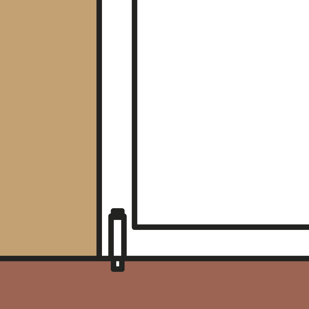 Keuze deurvastzetter