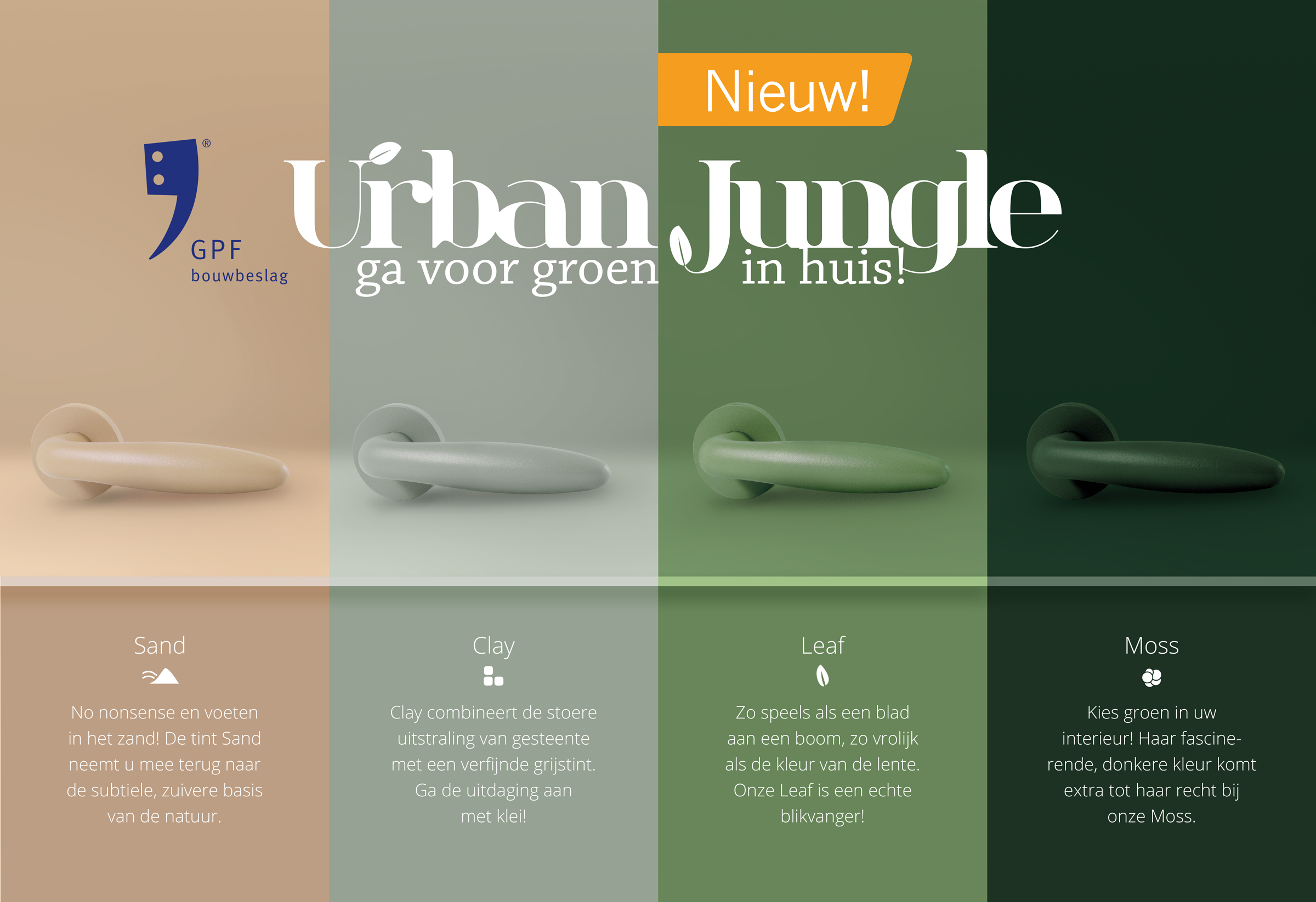 GPF Urban Jungle met finishes