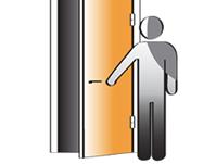 Hoe bepaal ik de draairichting deur?