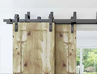Uit welke onderdelen bestaat een schuifdeursysteem?