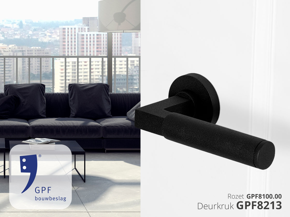 GPF deurkruk Kuri in Bauhaus stijl